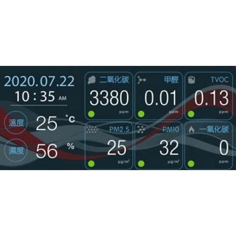 複合式空氣品質感測器